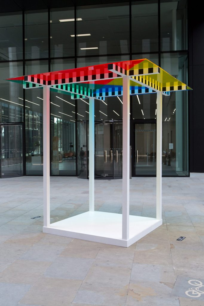 4 Colours at 3 metres high situated work